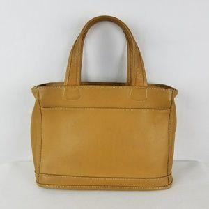 Coach Tan Bleecker 9303 Satchel Leather Bag